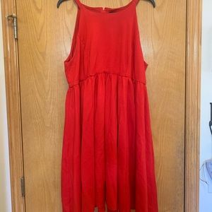 Torrid size 16 Red cocktail dress